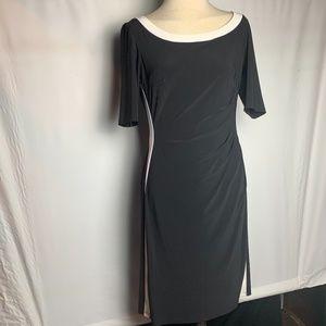 Stretch (semi) formal black dress